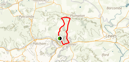 Stanmer Park Loop Map