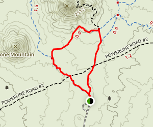 Brown's Ranch Short Loop Map