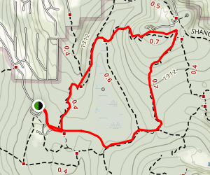 Anti-Aircraft Ridge Trail to Cougar Mountain and Coyote Creek Trail Map