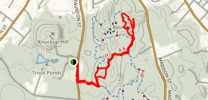 Pinnacle Trail Map