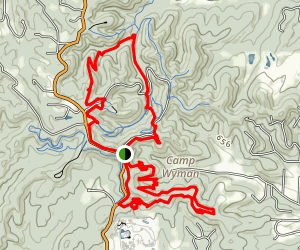 Greensfelder Race Route Map