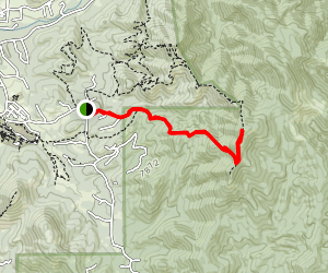 Atalaya Mountain Via Atalaya Trail Map
