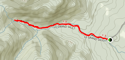 Le Grand Sault Map