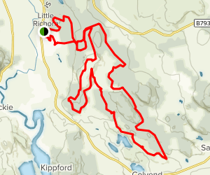 Dalbeattie Hardrock Trail Map