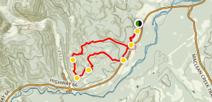 Elbow Valley Trail Loop Map