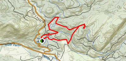 Highland Boundary Trail Map