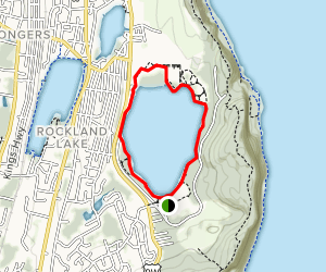 Rockland Lake Map