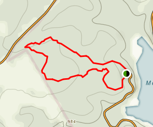 Shinnery Ridge Nature Trail Map