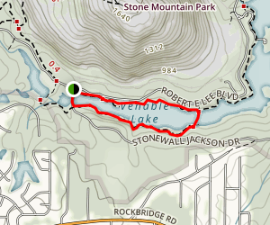Venable Lake Loop Map
