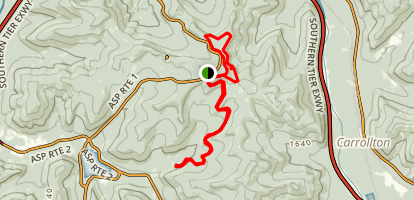 Allegany MTB Trail Map
