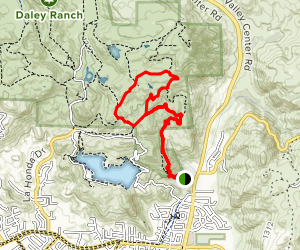 Sage Trail to Coyote Run Trail Map