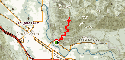 Mount Si Old Trail Map