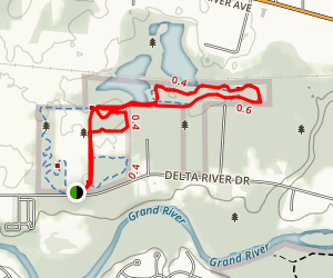 hawk meadow park loop map
