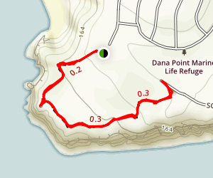 Dana Point Preserve Trail Map