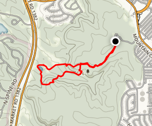 Cattail Pond Loop Map