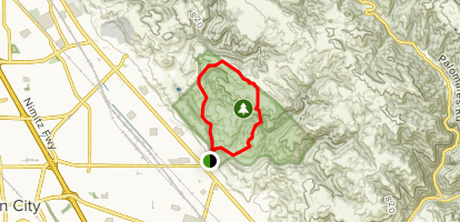 Myers Ranch, High Ridge Loop Map