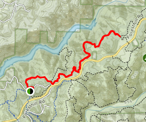 Lakeview Connector Trail Map