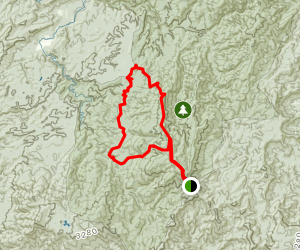 East Cowpen to Hickory Creek and Panther Creek Map