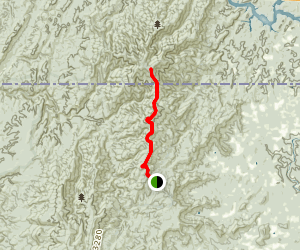 Hemp Top Trail Map