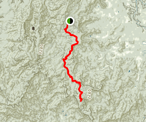 Benton Mackaye Trail Dally Gap To Double Hogpen Gap Map