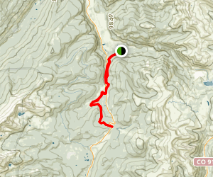 Camp Hale to Tennessee Pass Map