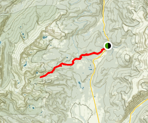 Tennessee Pass to Longs Gulch Map