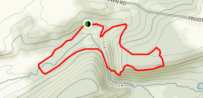 Climbers Run Conservancy Area Loop Map