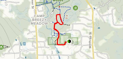 Idylbrook Conservation Land Loop Map
