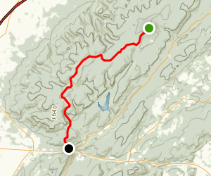 Appalachian Trail: Shippensburg Road to Caledonia SP Map