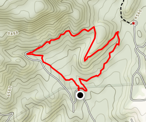 Carlito Springs Loop Map