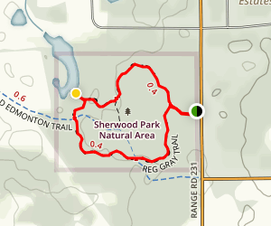 Red Gray Trail Loop Map