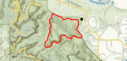 Monument Canyon Loop Trail Map