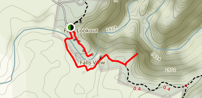 Dangars Gorge Lookouts Map