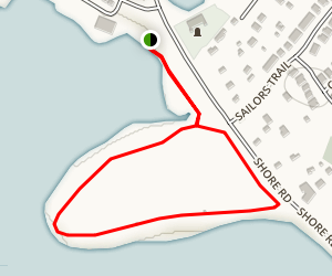 MacCormacks Beach Trail Map