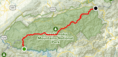Appalachian Trail: Fontana Dam to Davenport Gap - North Carolina ...