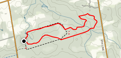 Hollidge Tract Map
