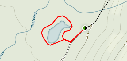 Heli's Pond Loop Map