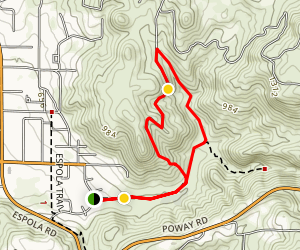 Rattlesnake Creek to Tooth Rock Loop Trail Map