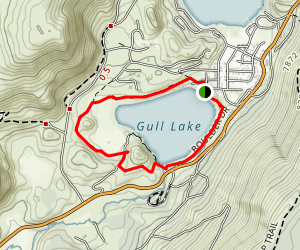 Gull Lake Loop Map
