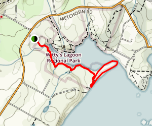 Witty's Lagoon Loop Map