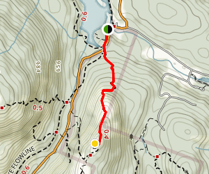 Mount Wells Summit Trail Map