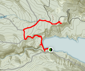 Blue Mountain Hike Map