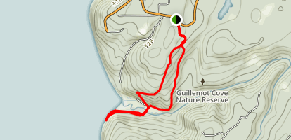 Guillemot Cove Trail Map