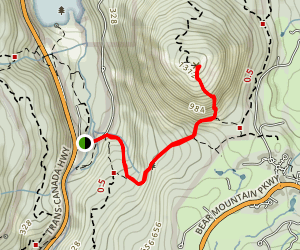 Mount Finlayson Trail Map