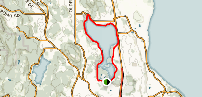 Elk and Beaver Lake Loop Map
