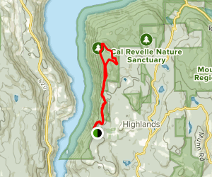 Ridgetop Trail Loop Map