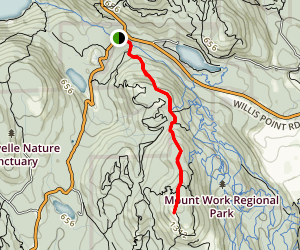 Mount Work Summit Trail Map