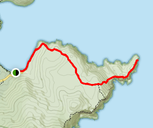 Cape Hauy Walking Track Map