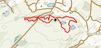 Gleniffer Braes Long Loop Map