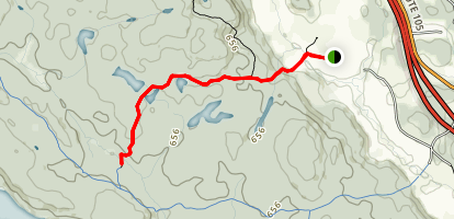 Healy Shelter Trail 70 Map